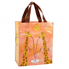 BLUE Q HANDY TOTE GIRAFFES ARE GOOD PEOPLE