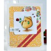 slick CHICK RUBBER STAMP (Set of 2 stamps)