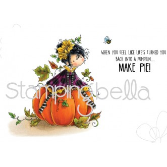 tiny townie PATRICIA loves PUMPKINS (includes 3 rubber stamps)
