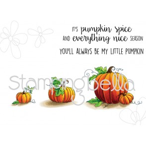 Set of PUMPKINS (set of 5 rubber stamps)