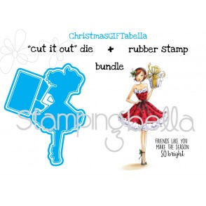 "ChristmasGIFTabella ""CUT IT OUT"" DIES + RUBBER STAMP BUNDLE (15% off!)"