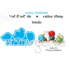 "Meowy CHRISTMAS ""CUT IT OUT"" DIE+BUNDLE (Save 15%)"