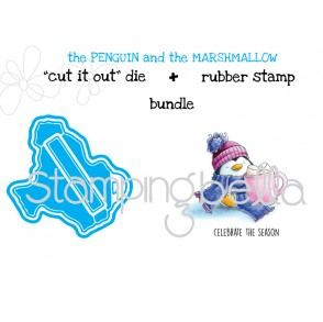 "the PENGUIN and the MARSHMALLOW ""CUT IT OUT DIES"" + RUBBER STAMP BUNDLE (save 15%)"