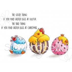 the GOOD EGG chick RUBBER STAMPS (SET OF 4 rubber stamps)