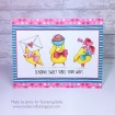 "VALENTINE CHICKS rubber stamp + ""CUT IT OUT"" DIE BUNDLE (save 15%)"