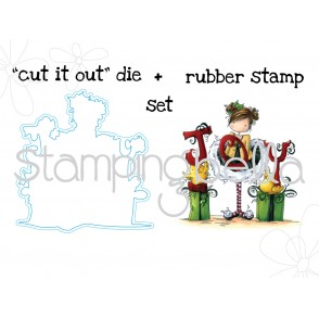 "Tiny Townie JENNY feels JOYFUL STAMP and ""CUT IT OUT"" BUNDLE"