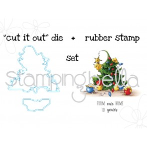 TRIMMING THE TREE STAMP + CUT IT OUT BUNDLE