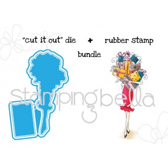"giftabella V. 2.0 ""CUT IT OUT"" DIE + RUBBER STAMP BUNDLE (save 15%)"