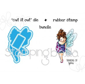 "MEET EDNA ""CUT IT OUT"" + RUBBER STAMP BUNDLE"