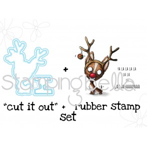 "NACHODEER STAMP and ""CUT IT OUT"" BUNDLE"