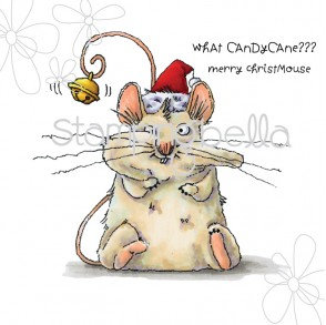 christmas mouse (includes sentiment)