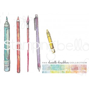 Danielle's SWATCH KIT MARKING TOOLS rubber stamps (LARGE)