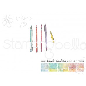 Danielle's SWATCH KIT MARKING TOOLS rubber stamps (MINI)