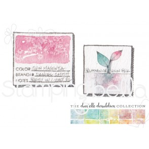 Danielle's SWATCH KIT POST IT/THUMBNAIL rubber stamp (LARGE)