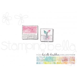 Danielle's SWATCH KIT POST IT/THUMBNAIL rubber stamp (MINI)