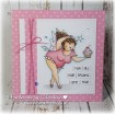 EDNA the EVERYTHING Fairy  (set of 6 CLING MOUNTED rubber stamps)
