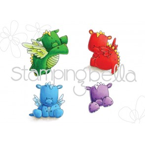 set of DRAGONS (includes 4 stamps)