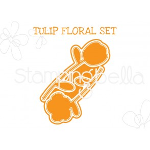 "TULIP FLORAL SET ""CUT IT OUT"" DIE"