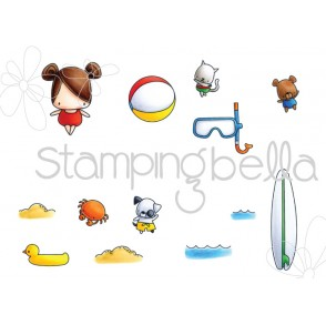 THE LITTLES SNORKEL SET (set of 13 CLING MOUNTED RUBBER STAMPS)