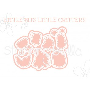 "LITTLE BITS CRITTERS ""CUT IT OUT"" DIES"