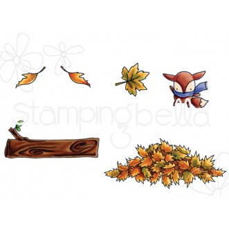 LITTLE BITS NATURE COLLECTION rubber stamps