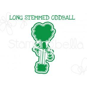 """LONG STEMMED ODDBALL """"CUT IT OUT"""" DIE"""
