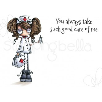 ODDBALL NURSE RUBBER STAMP