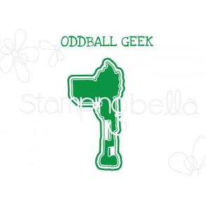 "ODDBALL GEEK ""CUT IT OUT"" DIE"