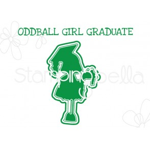 "ODDBALL GIRL GRADUATE ""CUT IT OUT"" DIE"