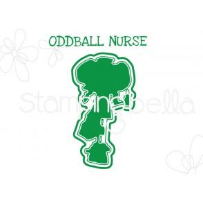 "ODDBALL NURSE ""CUT IT OUT"" DIE"