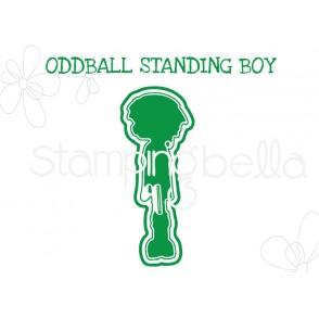 "ODDBALL STANDING BOY ""CUT IT OUT"" DIE"