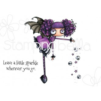 ODDBALL SPARKLE FAIRY RUBBER STAMP