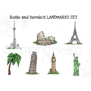 Rosie and Bernie's LANDMARK SET  (7 images- save 15%!)