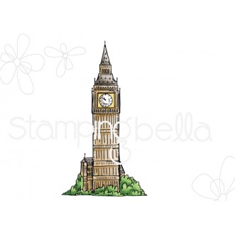Rosie and Bernie's BIG BEN rubber stamp