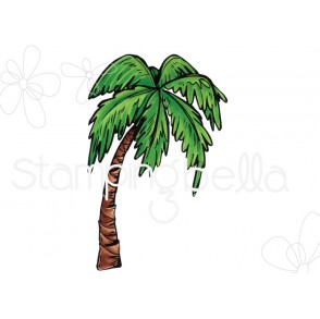 Rosie and Bernie's PALM TREE rubber stamp