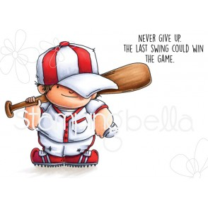 BASEBALL SQUIDGY RUBBER STAMP