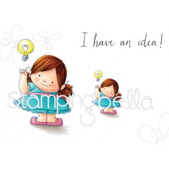 BIG IDEA SQUIDGY RUBBER STAMPS (set of 4 rubber stamps)
