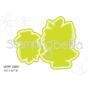 "GRUMPY SQUIDGY ""CUT IT OUT"" DIES (set of 3 dies)"
