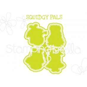 "SQUIDGY PALS ""CUT IT OUT"" DIE"