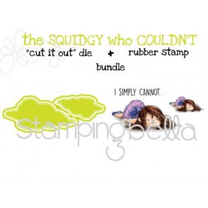 "the SQUIDGY who COULDN'T RUBBER STAMP + ""CUT IT OUT"" BUNDLE (save 15%)"