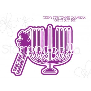 "TEENY TINY TOWNIE CHANUKAH ""CUT IT OUT"" DIE"