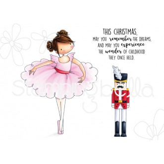 tiny townie NATALIE and the NUTCRACKER rubber stamps