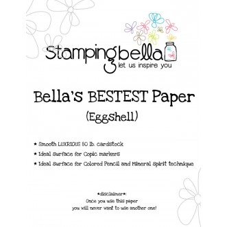 "Bella's ""BEST""  Paper EGGSHELL (10 sheets)"
