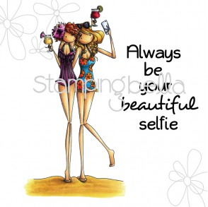 Uptown girls SAMANTHA and SIERRA take a SELFIE (includes sentiment)
