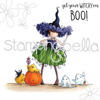 Tiny Townie WILLOW the witch (includes 2 sentiments)