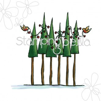 Birds decorating trees DIGI
