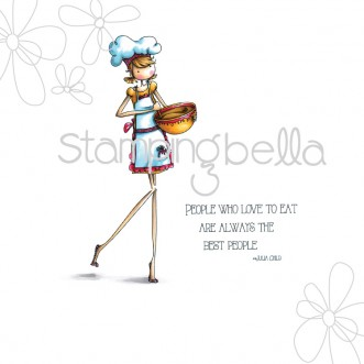 uptown girl CHANEL the CHEF (includes sentiment)