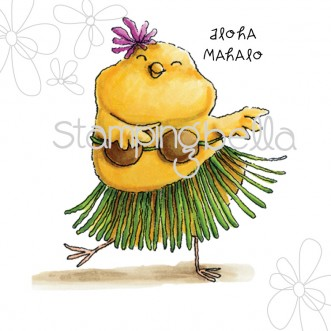 hula chick (including 2 sentiments)