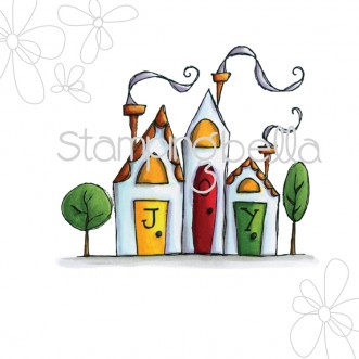 Joyful Village DIGITAL IMAGE