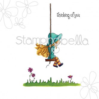 Matilda on her swing (including sentiment)